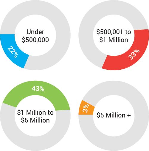 Range of Annual Revenue