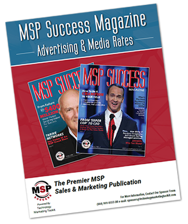 MSP Success Magazine Rates
