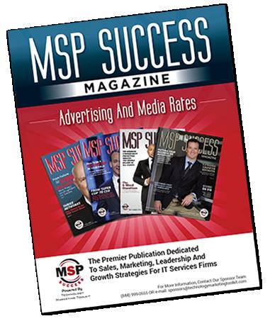 MSP Success Magazine Advertising Cover